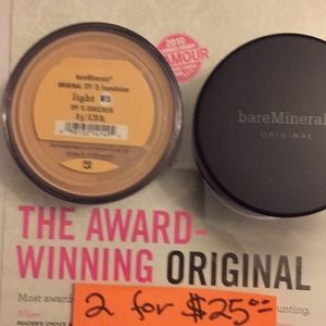 Bare Mineral Foundation LIGHT